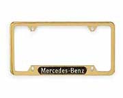 2002 Mercedes M-Class Mercedes-Benz Frame (Polished Stainl Q-6-88-0086