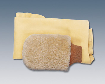 2002 Mercedes S-Class Sheepskin Wash Mitt Q-6-00-0005