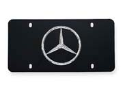 2015 Mercedes M-Class Marque Plate With Star Logo (Polishe Q-6-88-0058