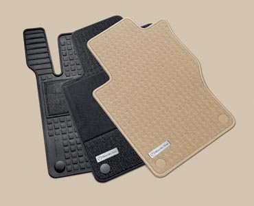 2006 Mercedes M-Class Carpeted Floor Mats