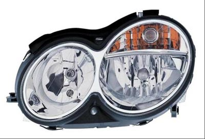2005 Mercedes C-Class Coupe Clear-Lens Headlamp 6-6-80-9947