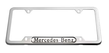 2014 Mercedes M-Class Mercedes-Benz Frame (Polished Stainl Q-6-88-0086