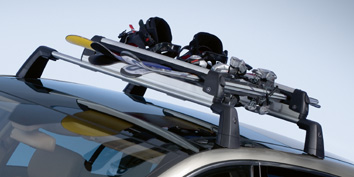 2007 Mercedes GL-Class Ski and Snowboard Rack - Deluxe 6-6-85-1703